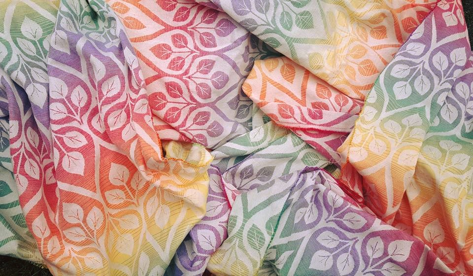 Yaro Slings La Vita Autumn Rainbow Wrap  Image