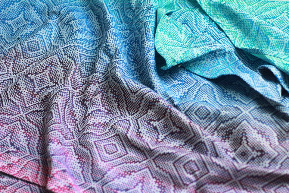 Lolly Wovens twill lotus jaquard weave LINA BIANCO Wrap (bamboo) Image