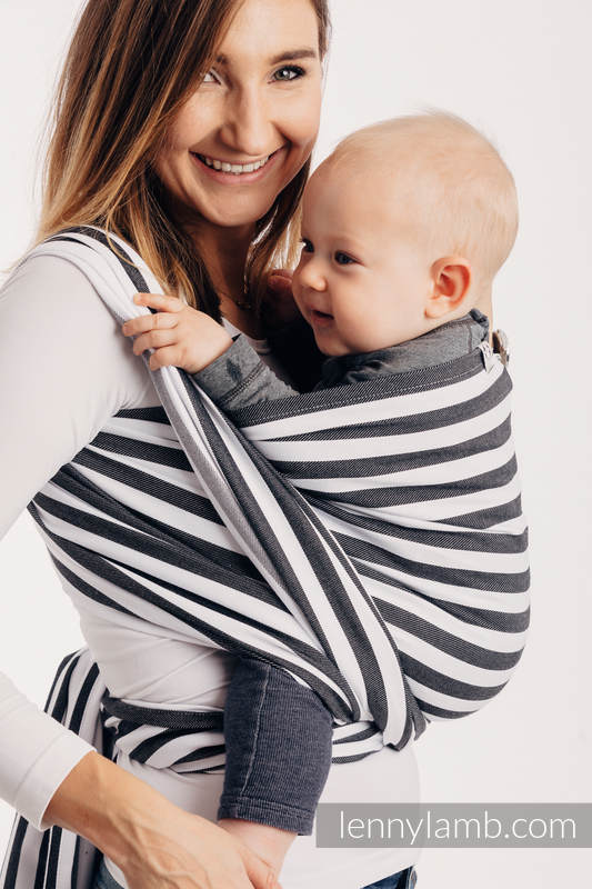 Lenny Lamb stripe Day and Night Wrap  Image