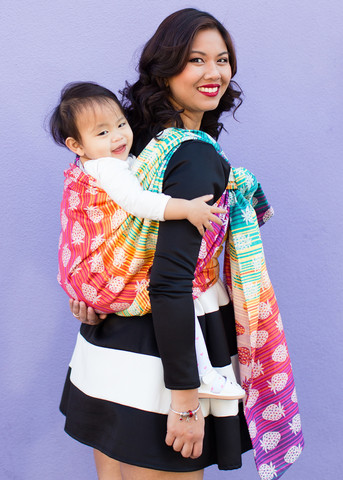 c1c8e68a0c7 TULA Baby Carriers strawberries Berry Sweet Wrap Image