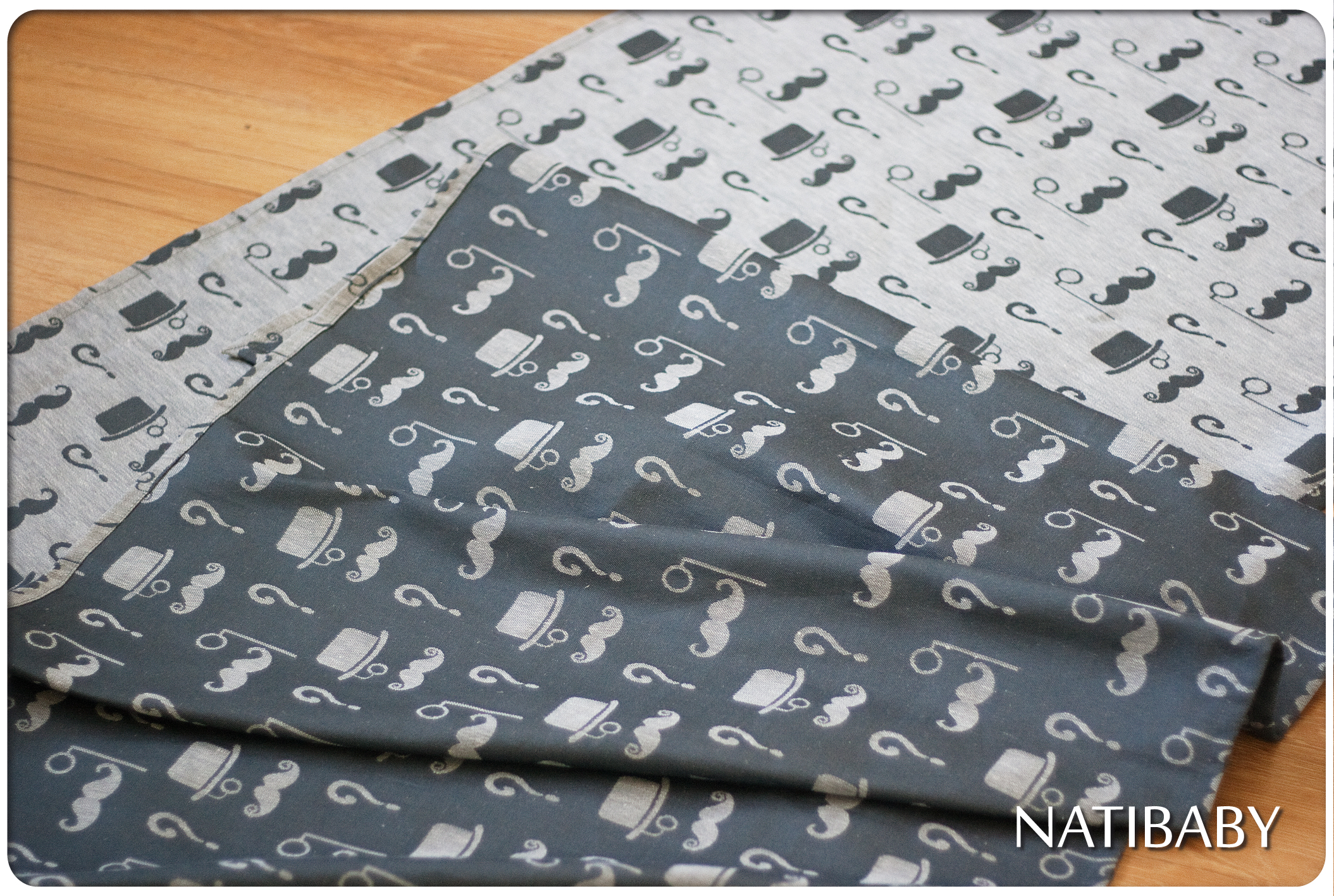 Natibaby If you mustache Wrap (hemp) Image