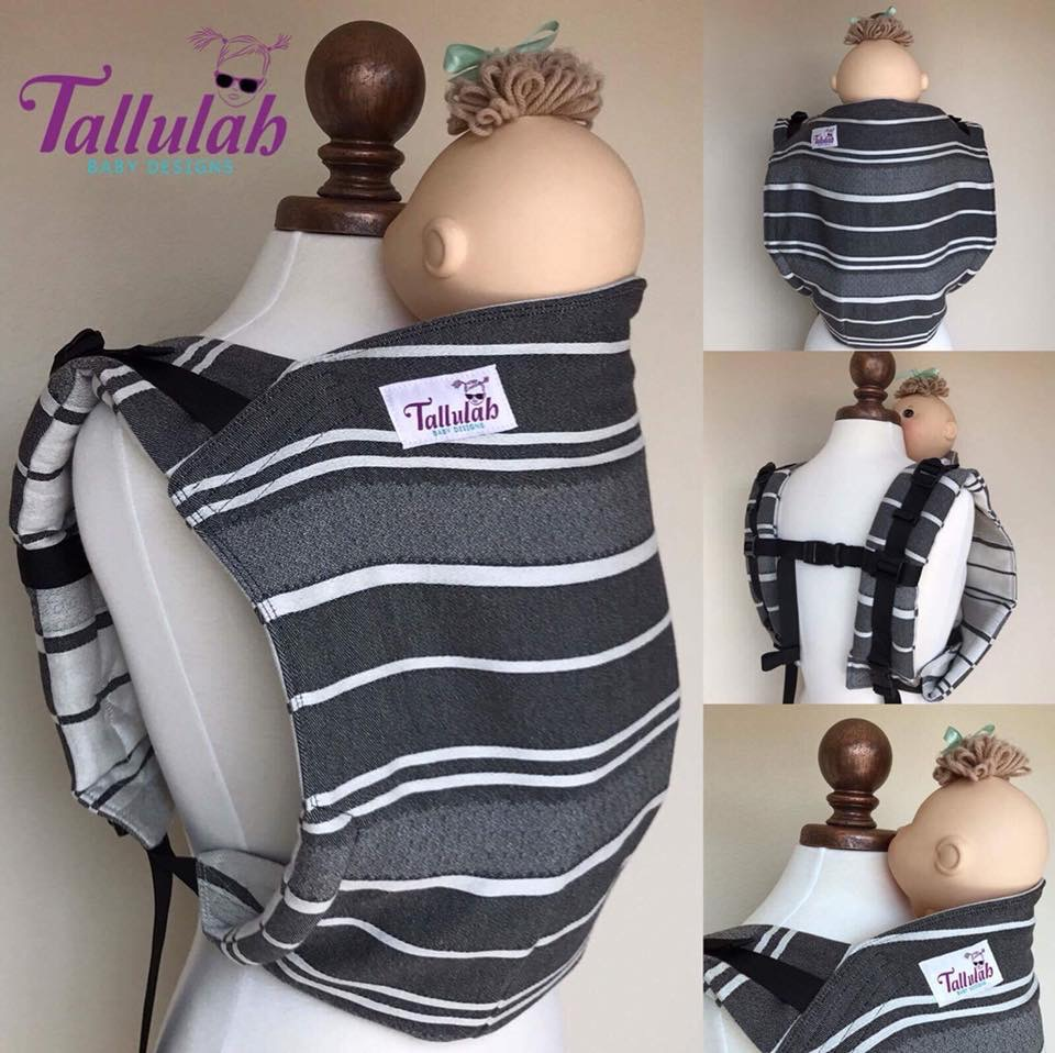 Tallulah Baby Designs Emmeline Textiles Amelia Ink Onbuhimo Wrap  Image