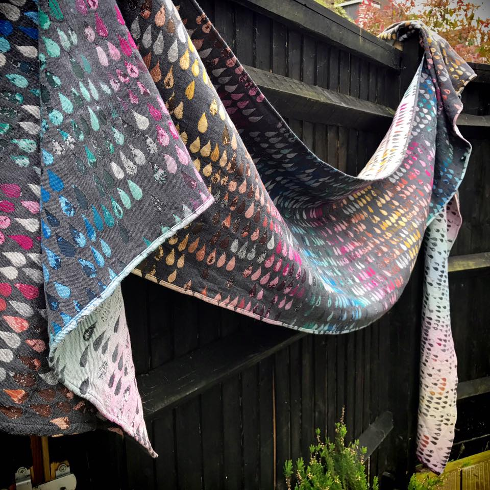 Woven Wings Droplets True Colors Wrap  Image