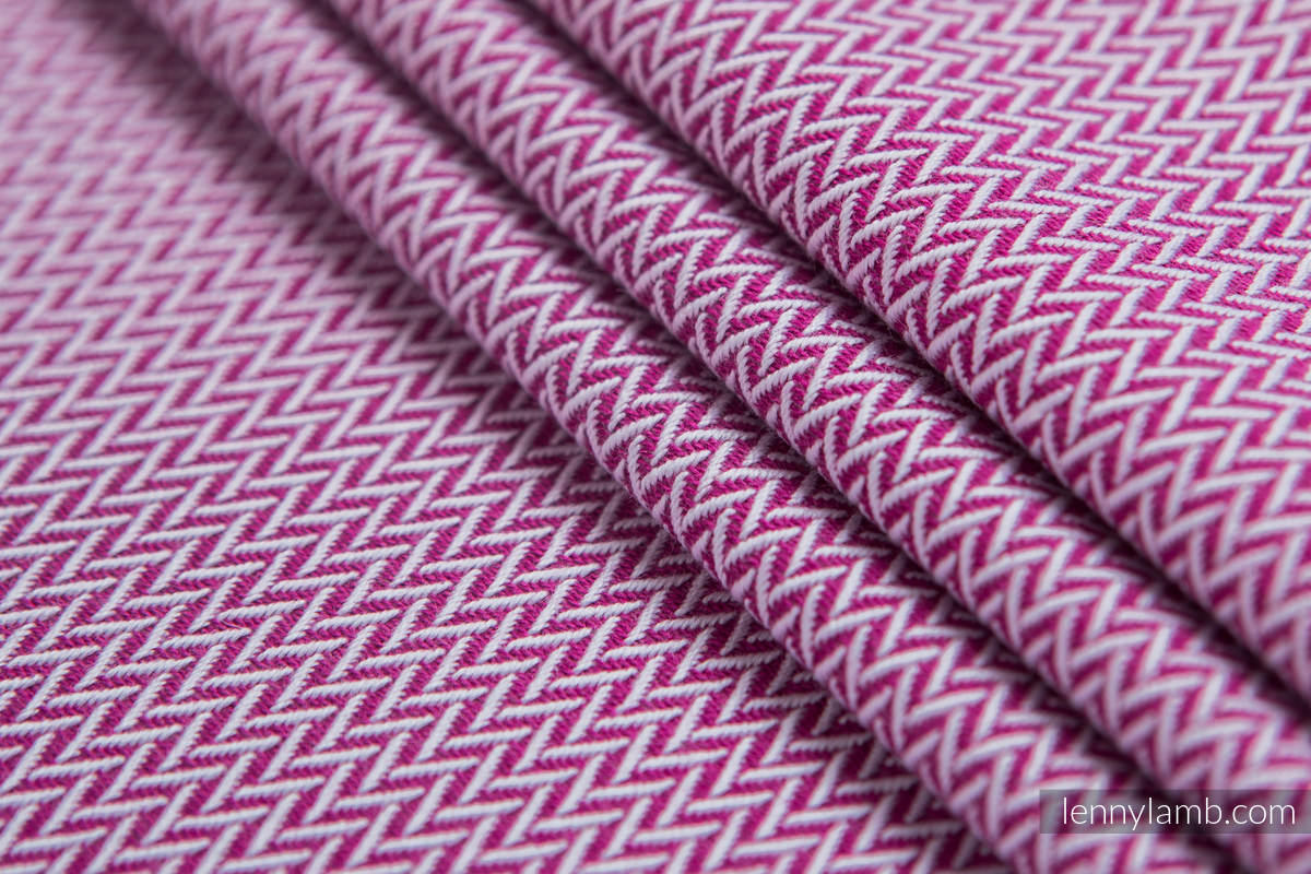 Tragetuch Lenny Lamb LITTLE HERRINGBONE PURPLE  Image