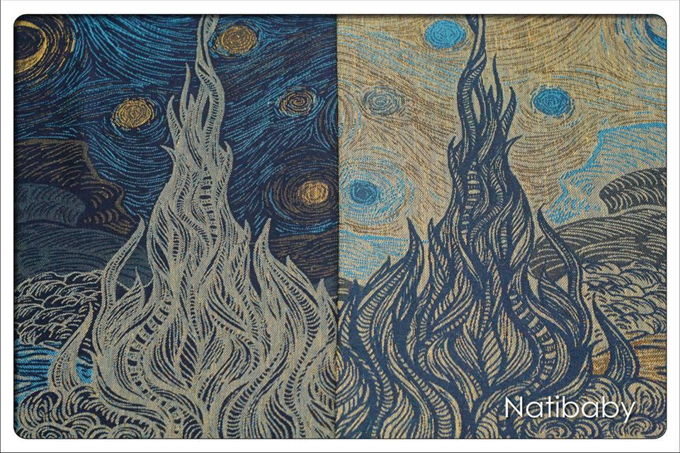 Natibaby Starry Night Wrap (hemp) Image