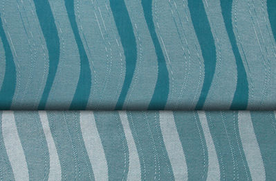 Didymos Wellen Aqua Seide/Silk Waves Acqua Wrap (silk) Image