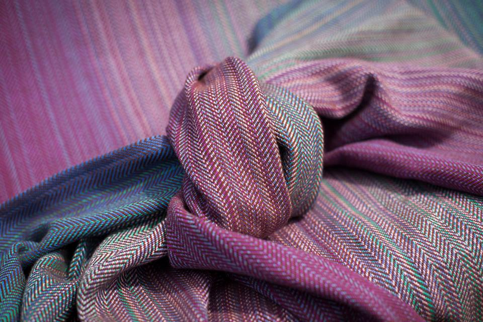 Heartiness Herringbone Weave Pinstriped grad  Image