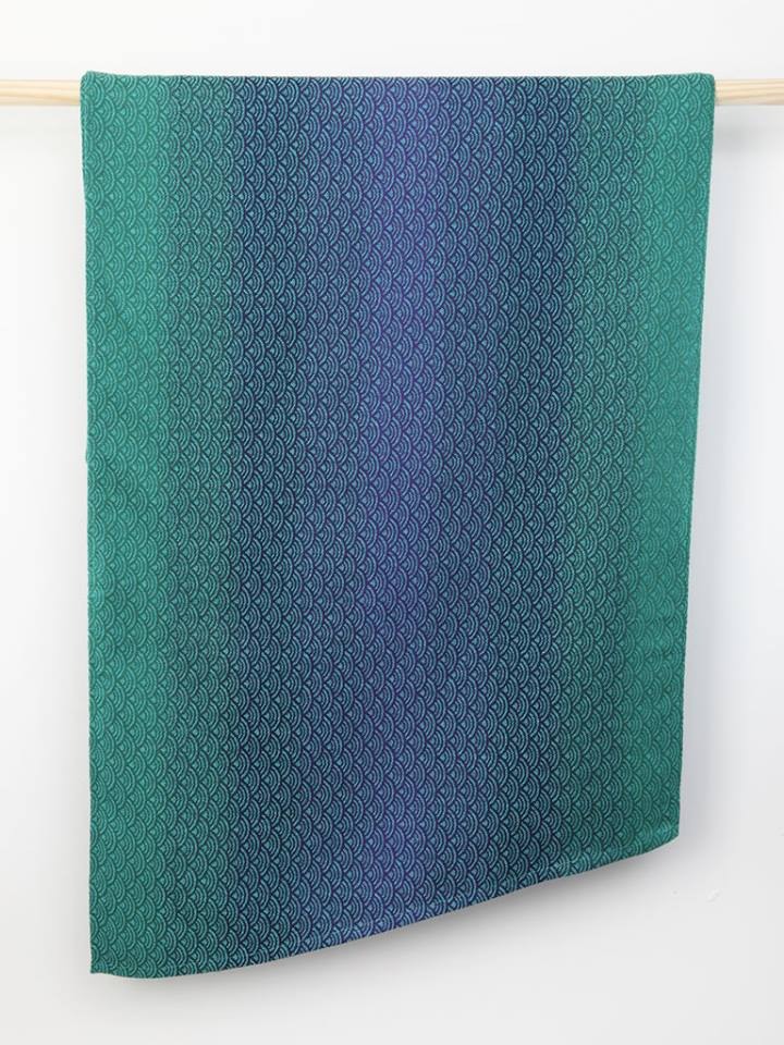 Oscha Sekai Mermaid Wrap (tencel, hemp, wild silk, silk) Image