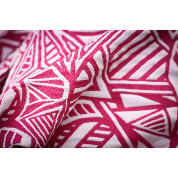 Violet Urban  >> Yaro Slings Urban Geo Contra Red Violet White Repreve Wrap Repreve
