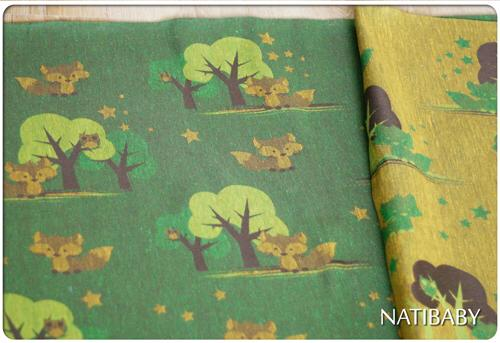 Natibaby Casper's Walk in the Woods Wrap (hemp) Image