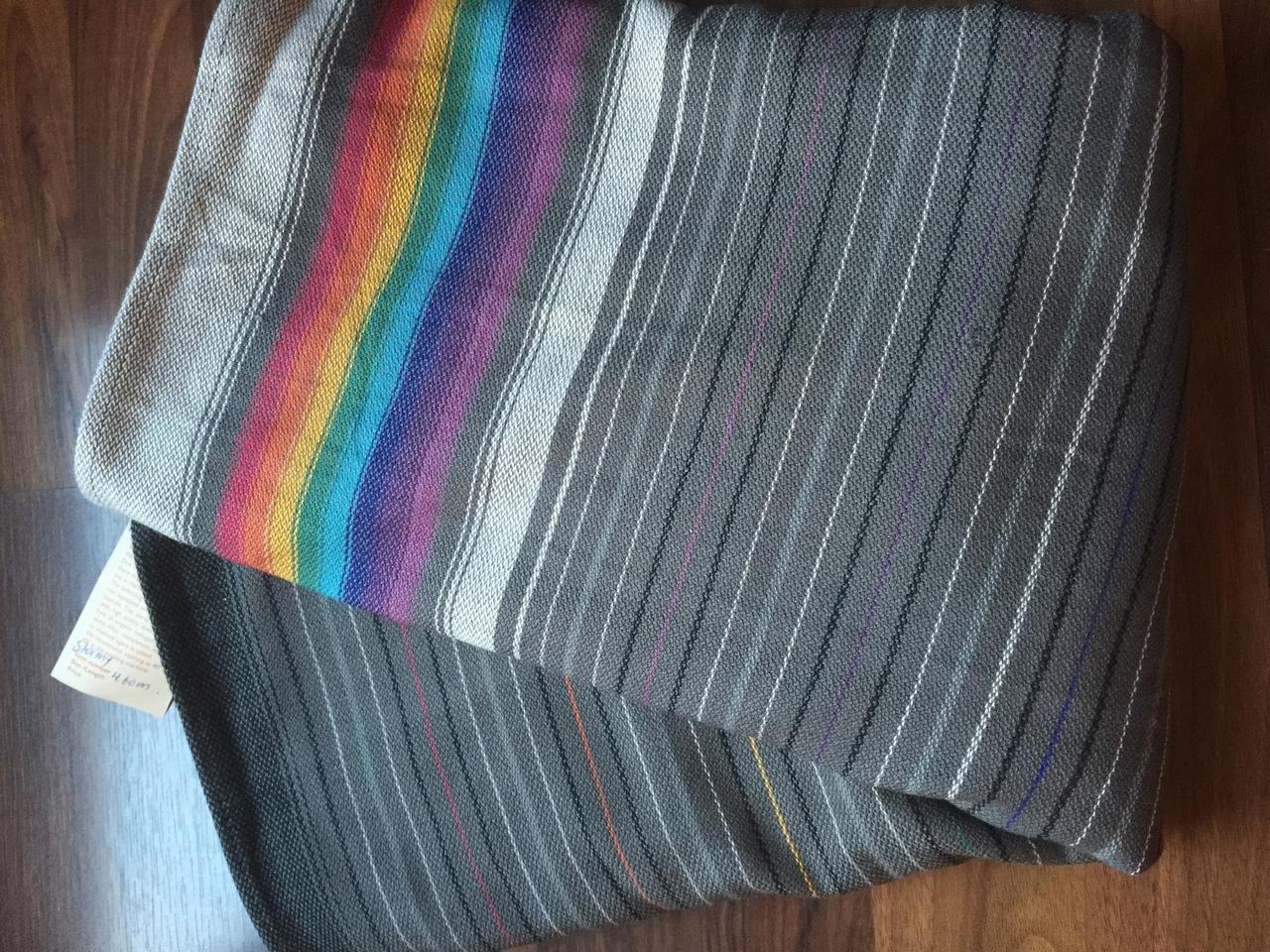 cf89a547757 Girasol small stripe Stormy Wrap Image