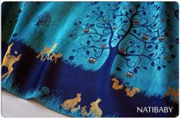 Natibaby Magical Forest Wrap  (hemp)