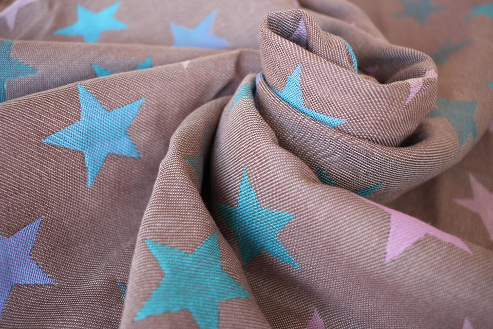 Yaro Slings Stars Ultra Purple Aqua Coffee...